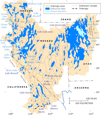 Paleolakes Nevada Utah and California