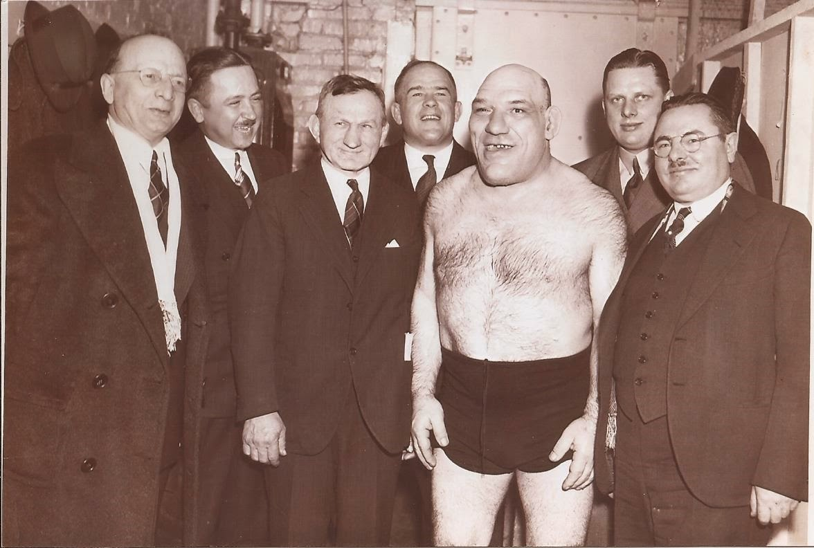 Maurice Tillet was born in France and was very intelligent