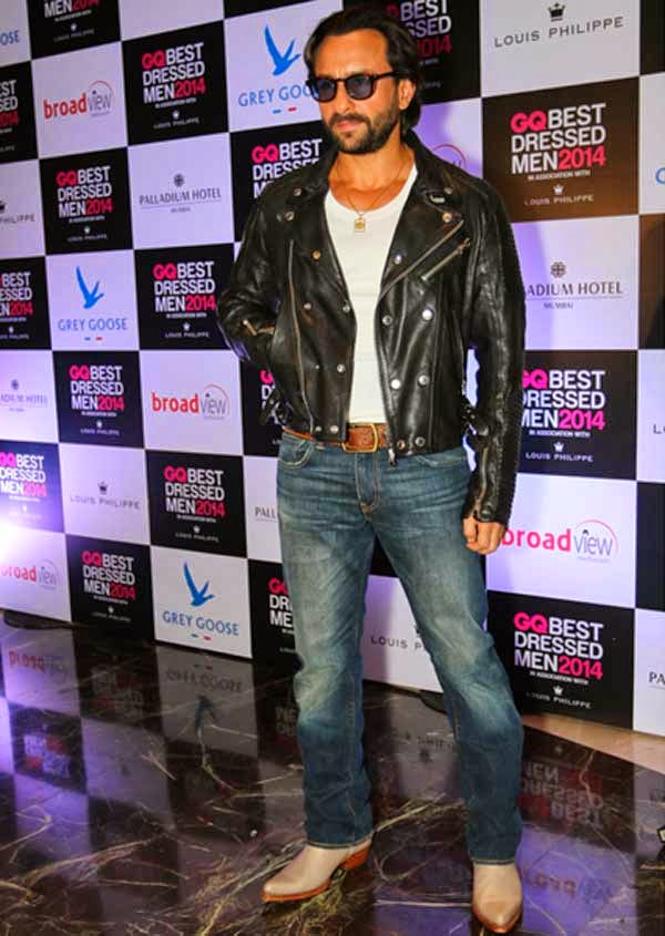 Saif Ali Khan At GQ India's Best Dressed Men 2014 Awards