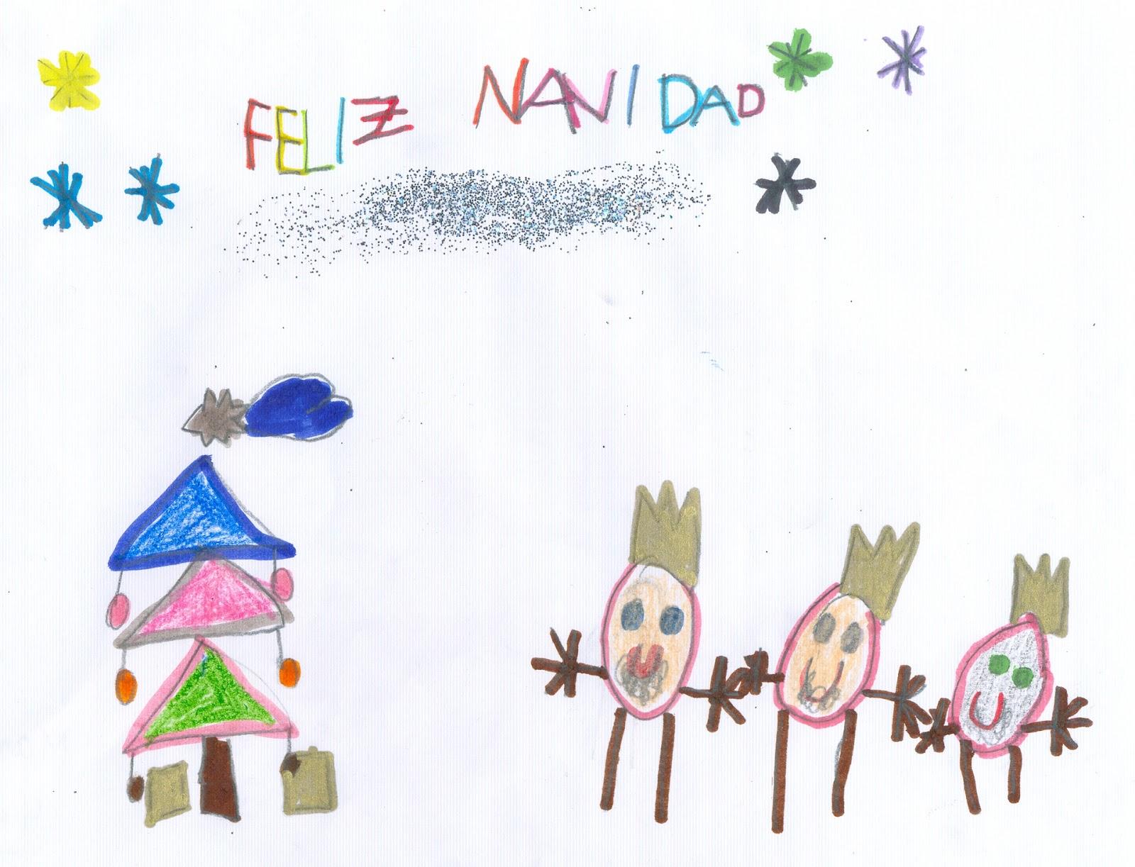 A l m e n d r a d a s ganadores del vi concurso de - Postal navidena infantil ...