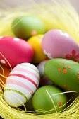 Oeufs décorées pâques