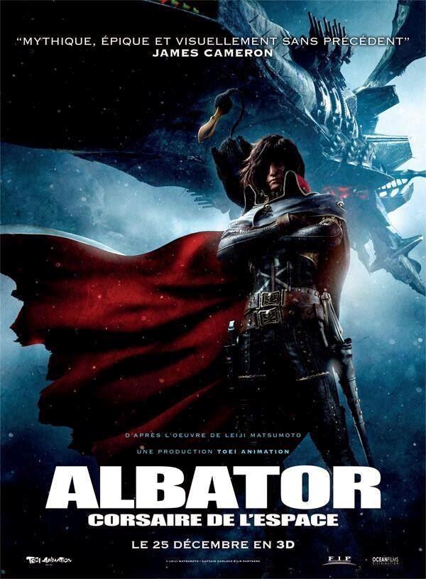 MANGA / ANIME : Captain Harlock / Albator Affiche-albator2013102164405