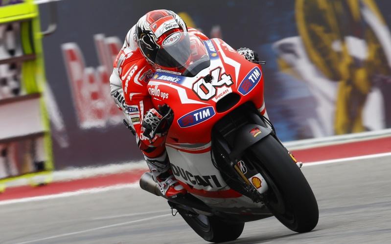 MotoGP Indianapolis : Marc Marquez start di posisi pertama . . Andrea Dovizioso di posisi ke dua