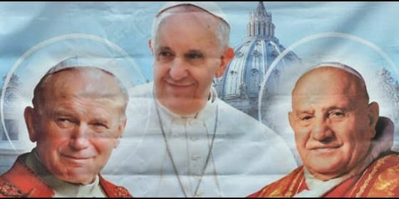 27 DE ABRIL: CANONIZACIÓN DE JUAN PABLO II Y DE JUAN XXIII