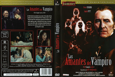 Las amantes del vampiro | 1970 | The Vampire Lovers | DvD Cover - Caratulas