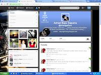 Penampilan baru Twitter menyerupai facebook?