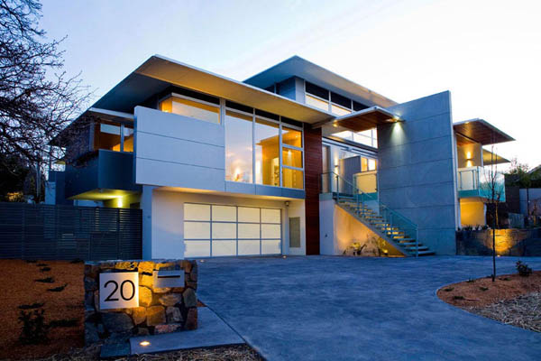 Casa de Carey muestra una conexión necesaria visual con el paisaje circundante.