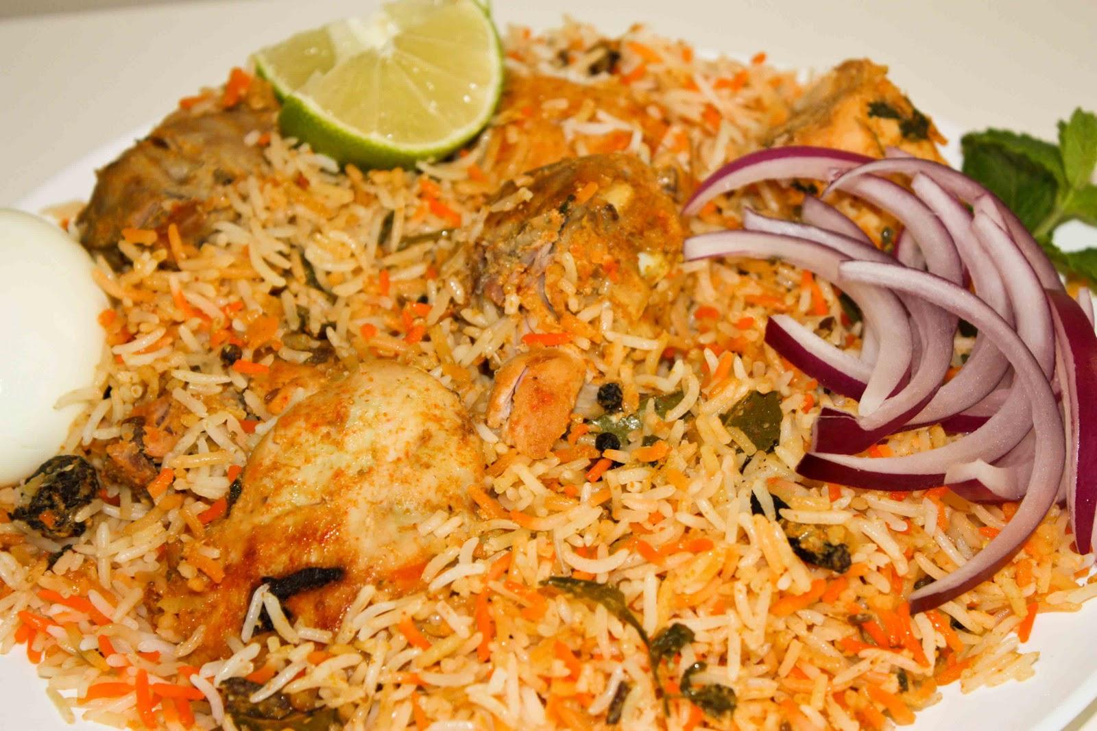 How to cook ... Hyderabadi Chicken Biryani