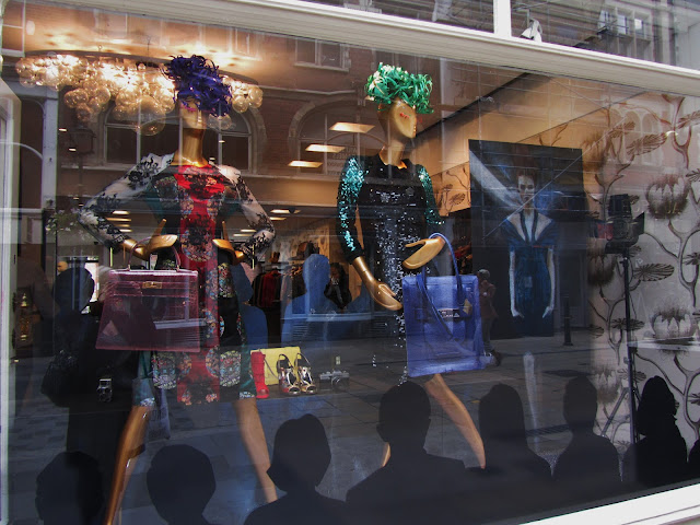 Browns London Window Display AW2012
