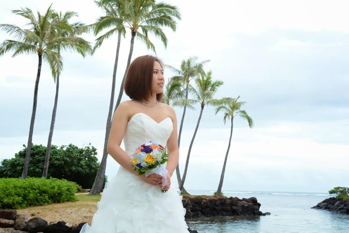 Kahala Beach Bride