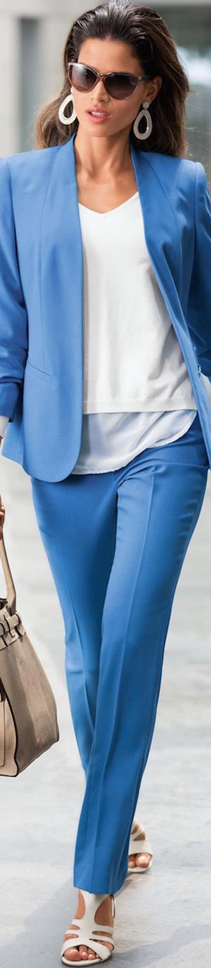 Madeleine Azure Blue Blazer