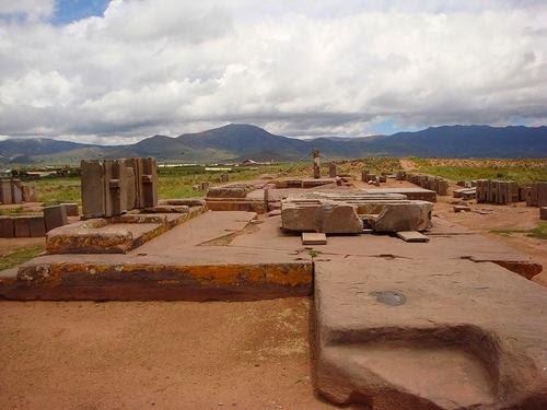 ruins of Puma Punku Bolivia