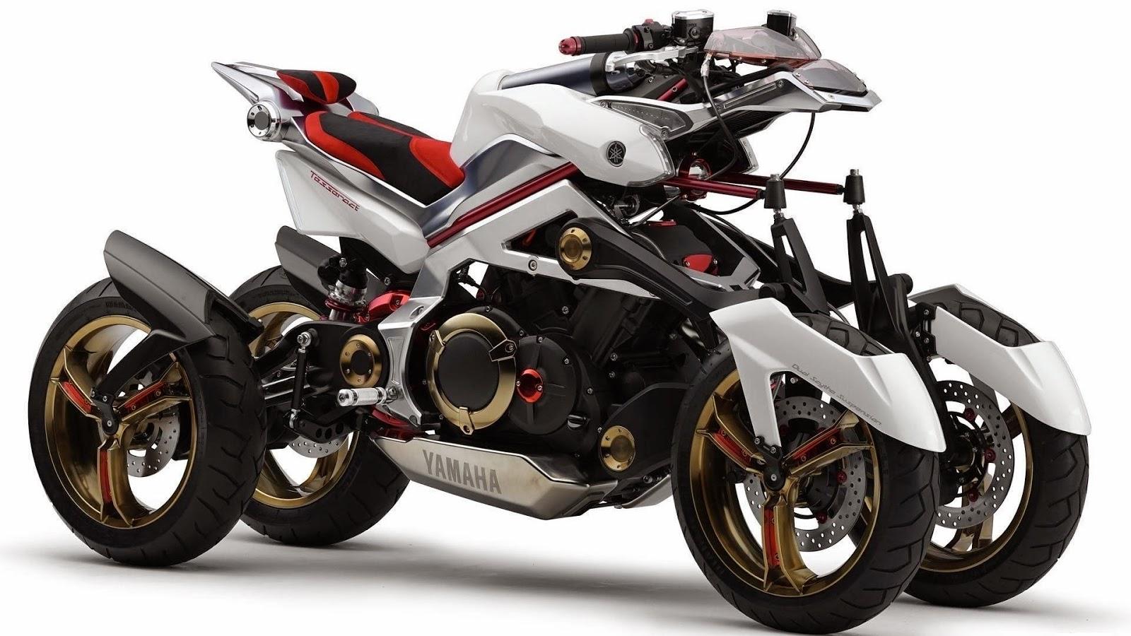 Motocicleta Yamaha Tesseract Full HD Wallpaper