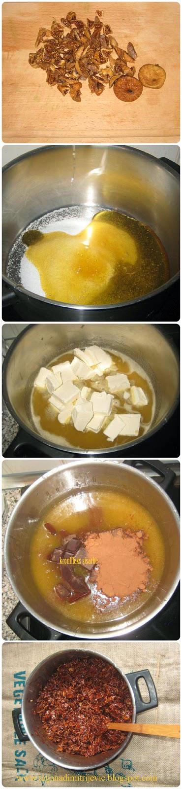Cornflakes sisarke kolac