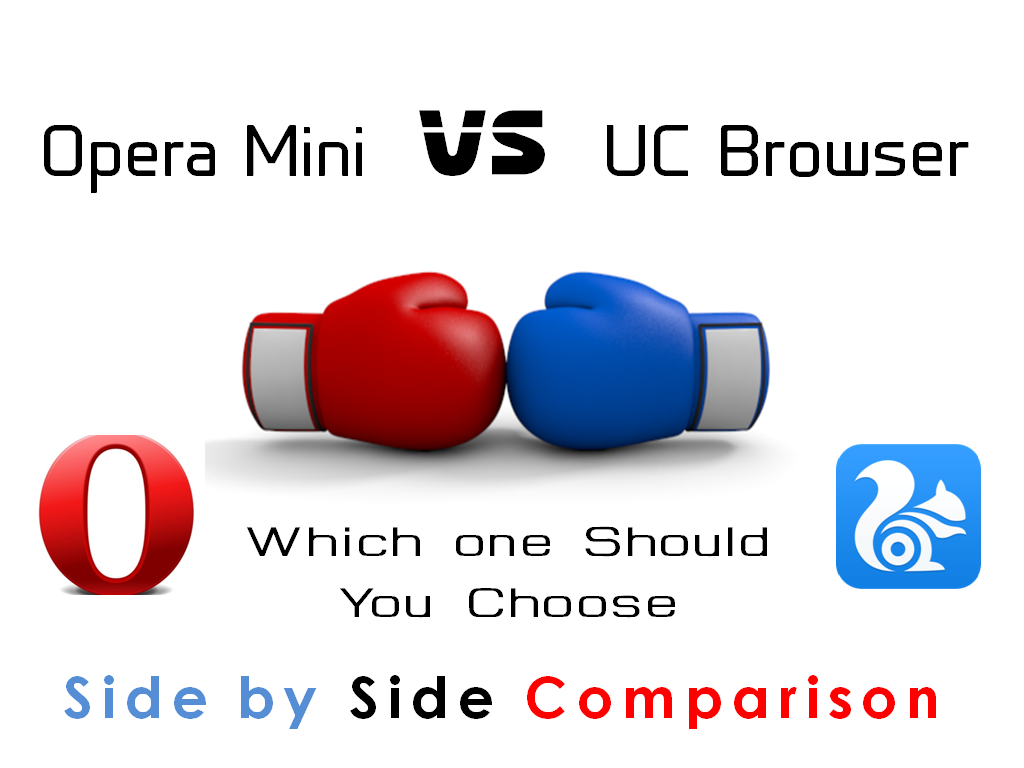 Opera Mini Vs UC Web Features Comparison