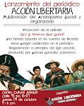 Lanzamiento del periódico Acción Libertaria