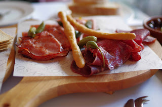 Italian sliced meat selection image