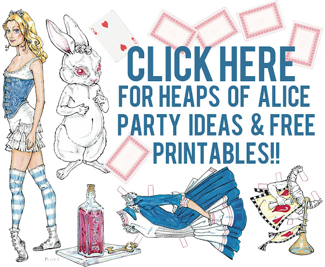 Alice In Wonderland Mad Tea Party Coloring Page