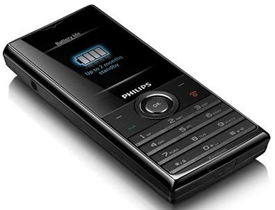 Upcoming Philips Mobile with long battery life in India