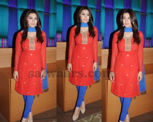 Hansika Long Sleeves Chuirdar
