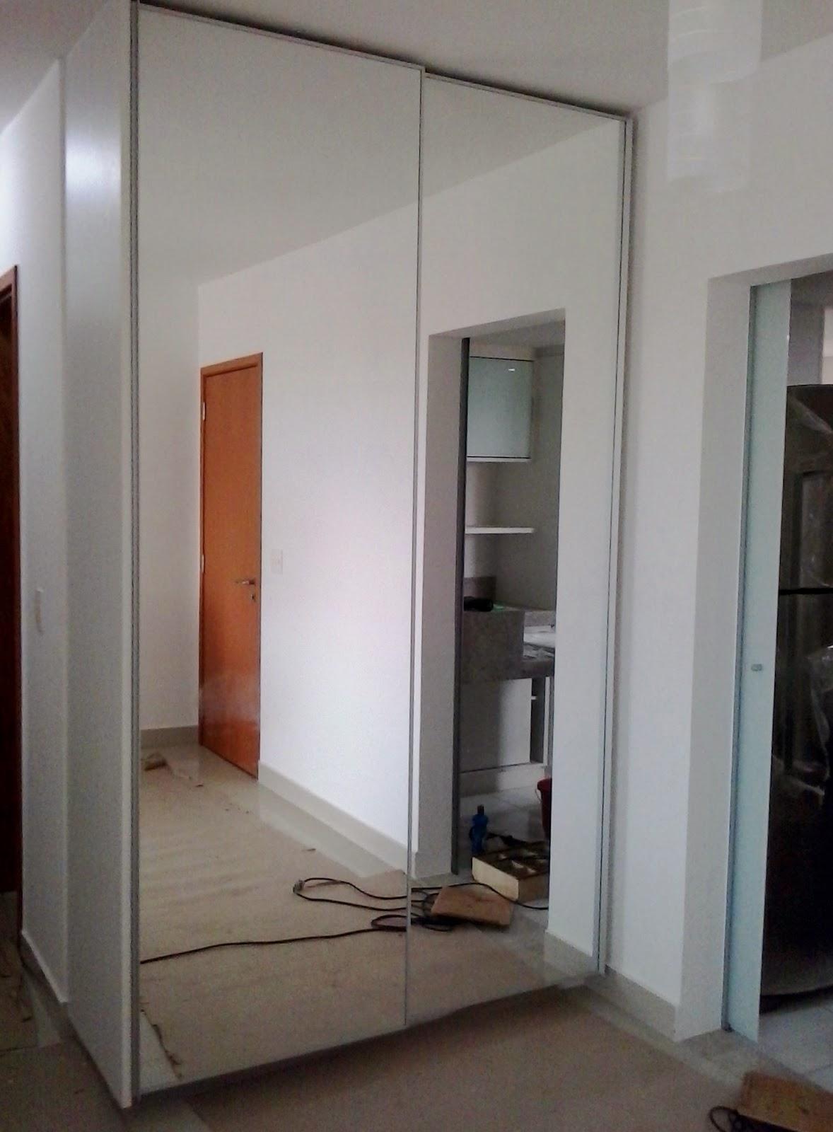 Armario De Parede Com Porta De Correr : A r executiva ambientes planejados moveis quarto