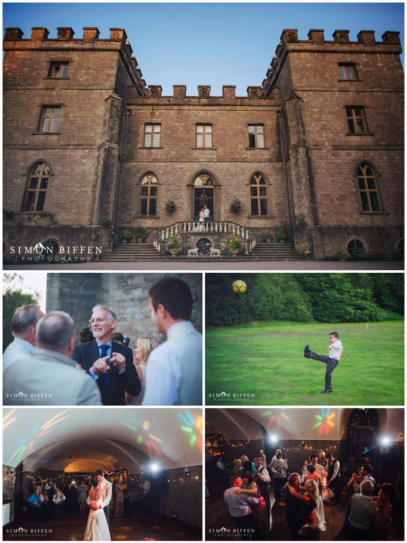 Clearwell Castle wedding reception