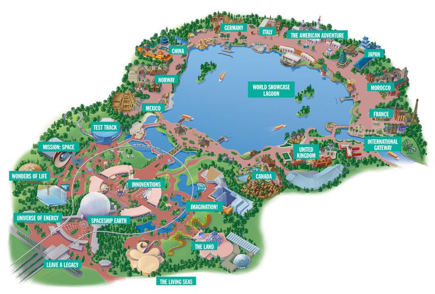 Disney Map New Calendar Template Site