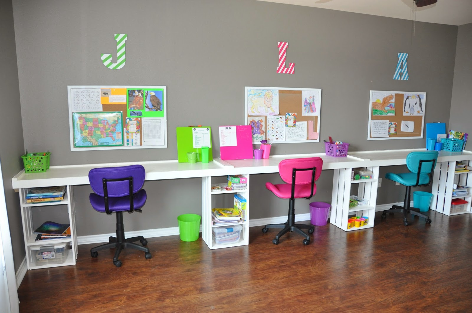 Home Classroom Design ~ Right where we are home school classroom successful