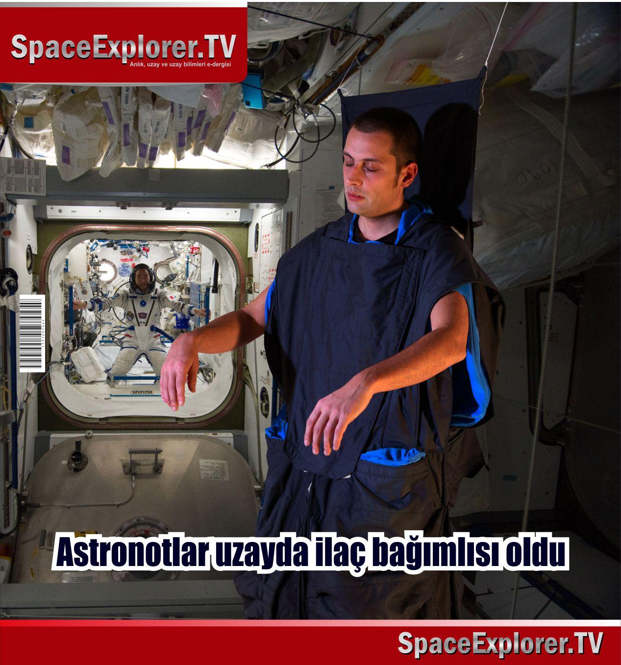 Lancet Neurology, Uluslar Arası Uzay İstasyonu, ISS, Astronotlar, NASA, NASA astronotlarının itirafları, Space Explorer,