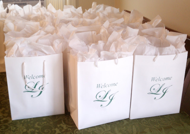 Eutopia Events Wedding Day Welcome Bags