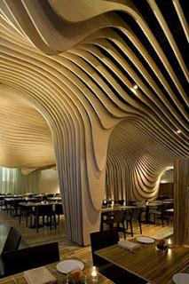 Uniq Interior Design for Restaurant
