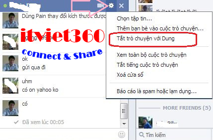 An nick FAcebook với 1 người, hướng dẫn cách ẩn nick FB với 1 số người