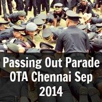 Passing Out Parade OTA Chennai Sep 2014