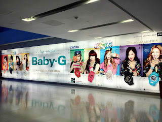 SNSD Girls Generation Casio Baby G Ion Orchard Singapore 2