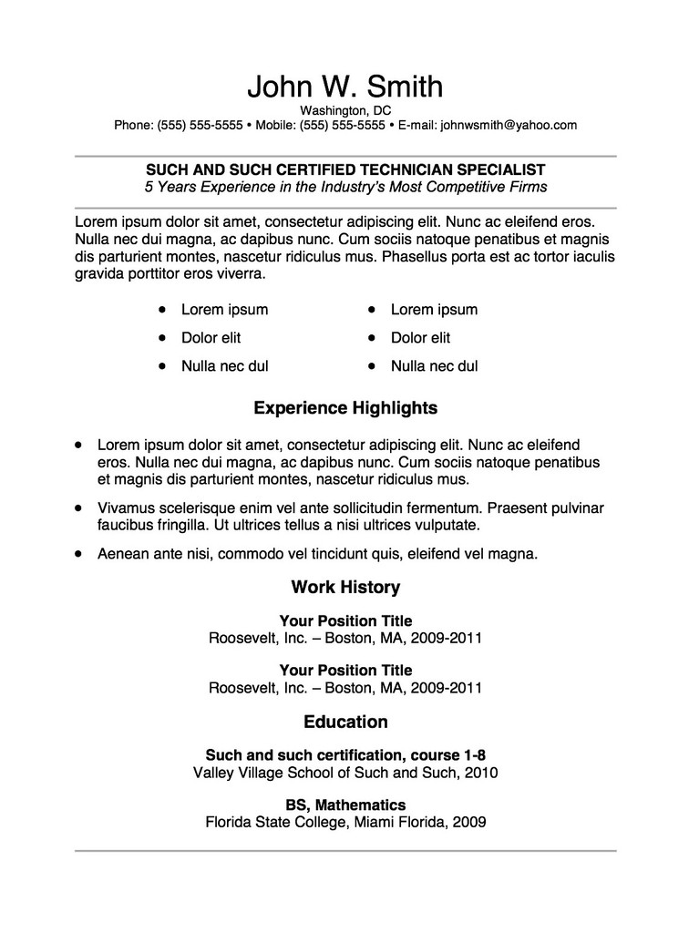 Transferable Skills For Resume - Clasifiedad .Com