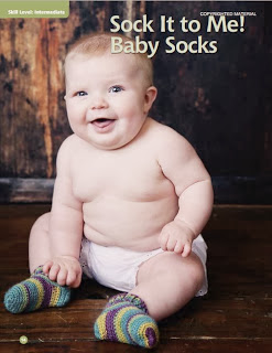 crochet pattern baby socks