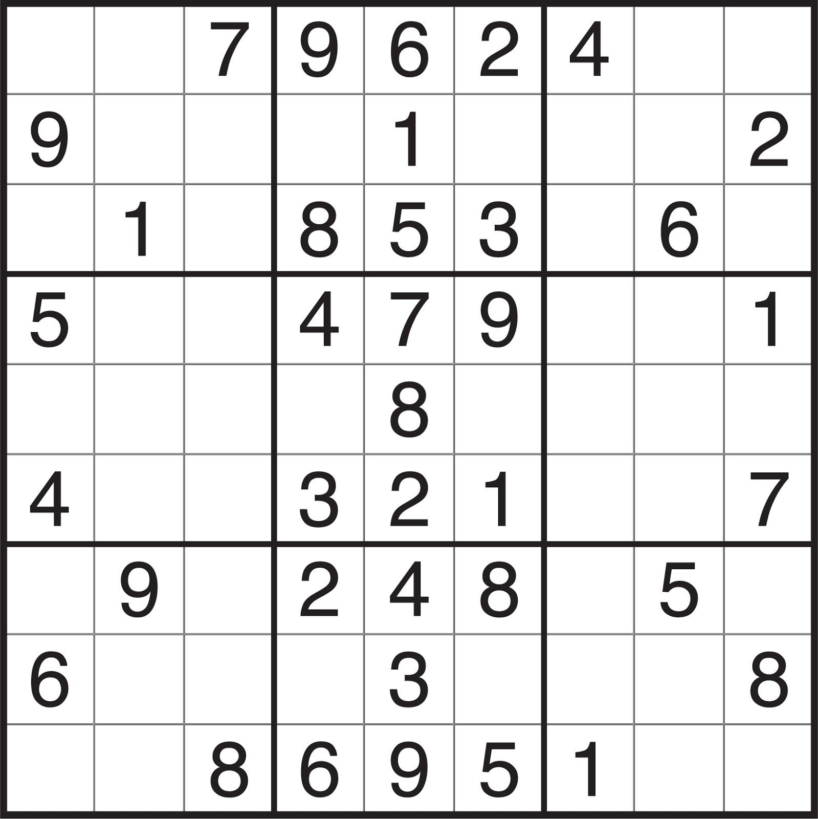 Evil Sudoku I know i like sudoku.