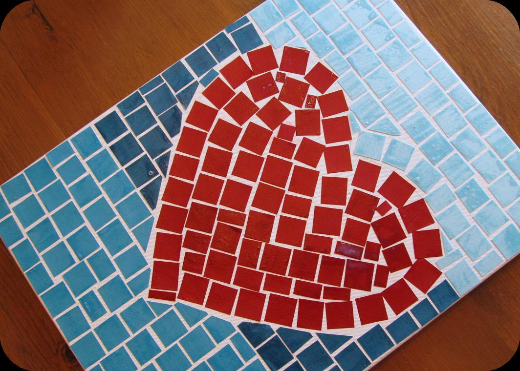 Make Art Design : Pocket full of pink making your own mosaic art