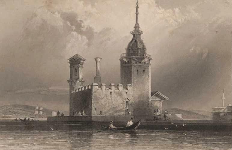 Kız Kulesi Tarihi Resim