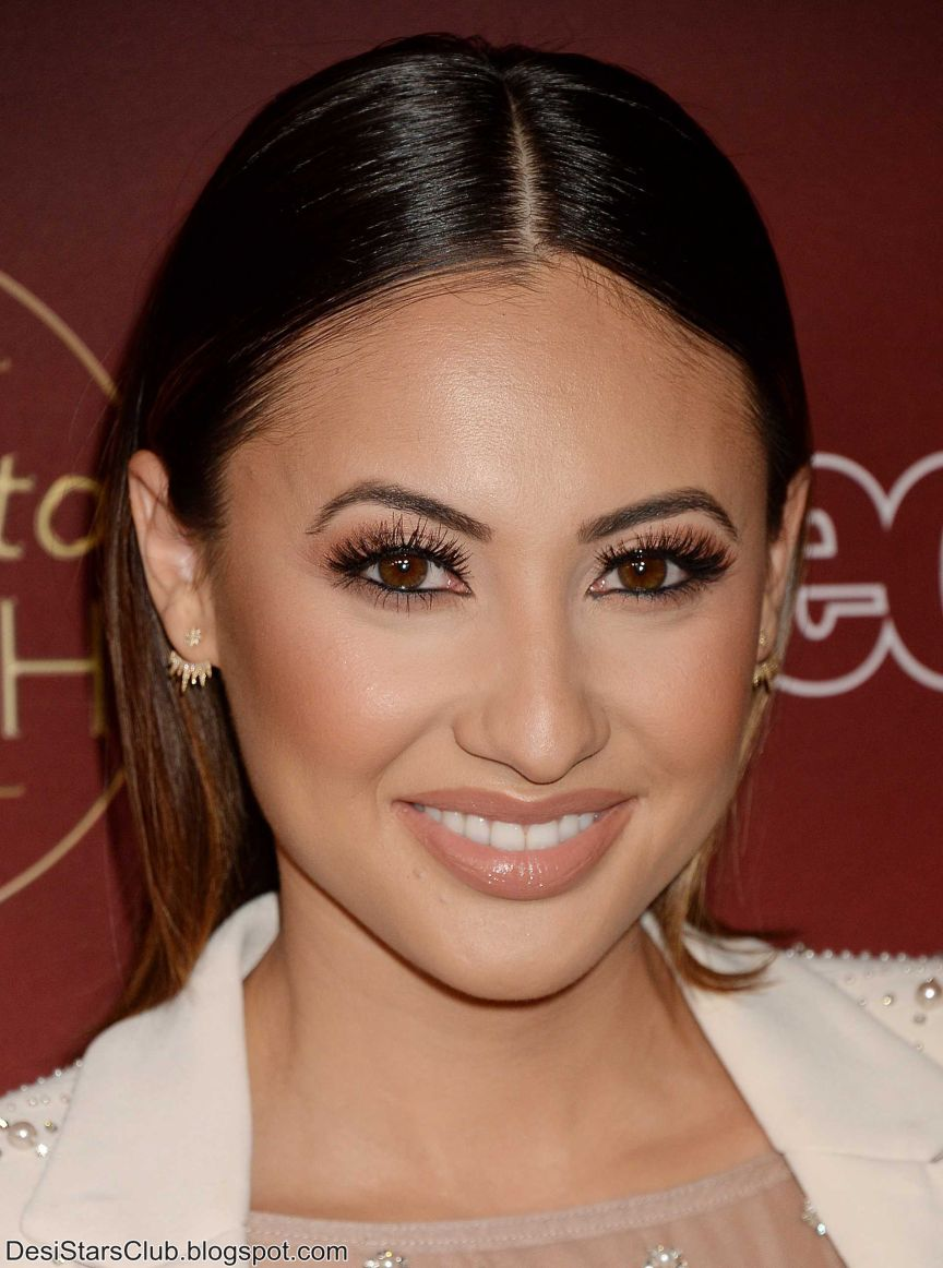"""Francia Raisa Photo Shoot at People's """"Ones to Watch"""" in Los Angeles"""
