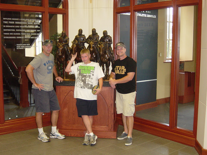 Three Loyal ND Fans and the Four Horsemen