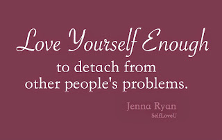 how to detach yourself from someone you love