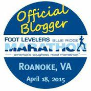 Blue Ridge Marathon Blogger!