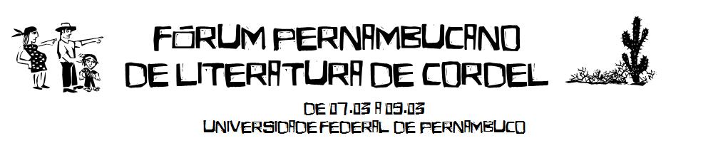 Fórum Pernambucano de Literatura de Cordel