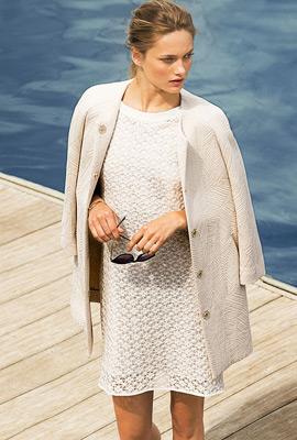 Massimo Dutti ropa verano 2013 vestidos y abrigos