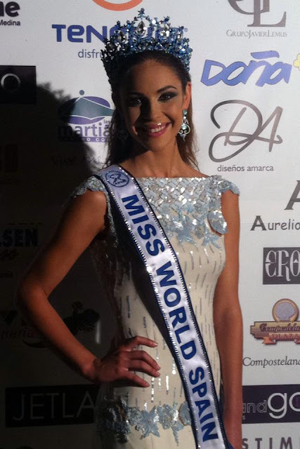 Miss World Spain 2013 Elena Ibarbia Jimenez