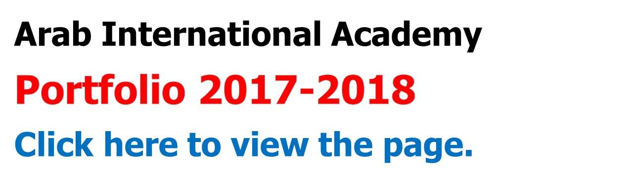 AIA Portfolio 2017-2018