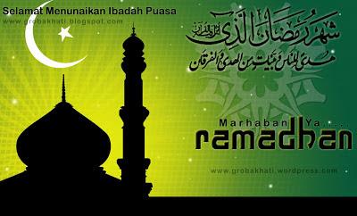 Kata-Kata Mutiara Menyambut Bulan Ramdhan 2013