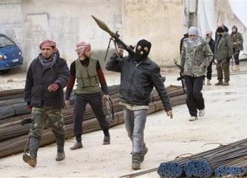 Bentrok militan di Suriah selama 2 pekan tewaskan 1.000 jiwa