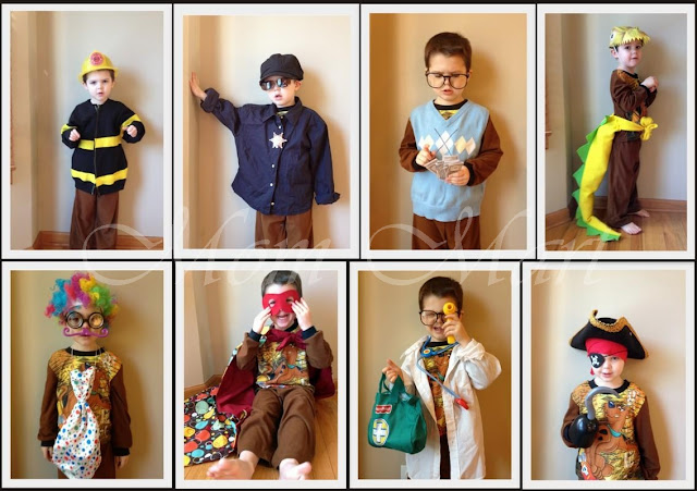 Dress up for boys